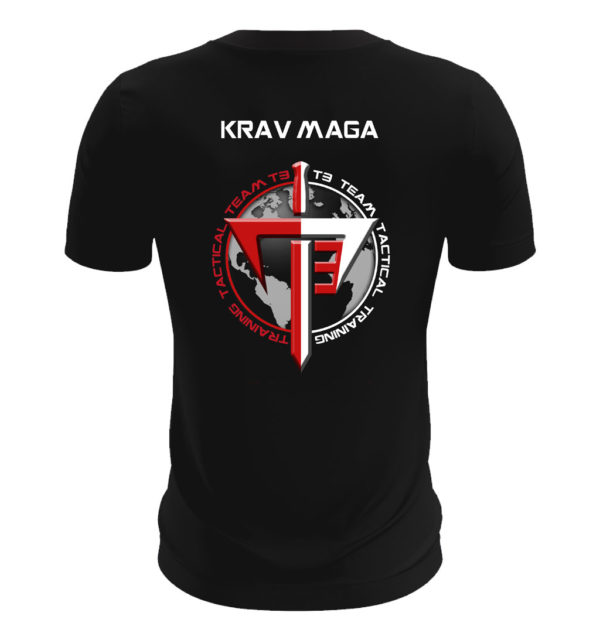 T3 specialist training tee shirt back