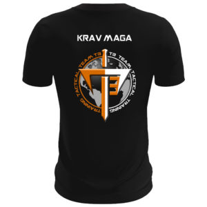 Krav Maga Training T-Shirt – T3 Aspirant Instructor