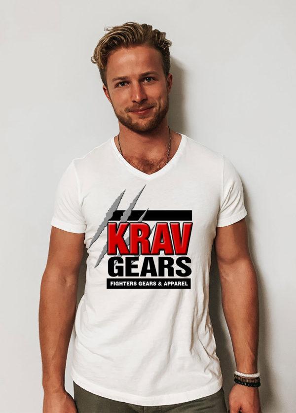 Krav gears beast scratch tee shirt