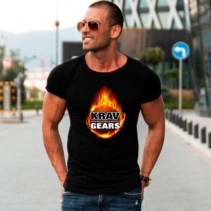 T-shirt Krav Gears Fireball Fit