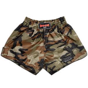 Boon Sport – Muay Thai Shorts Green Camo