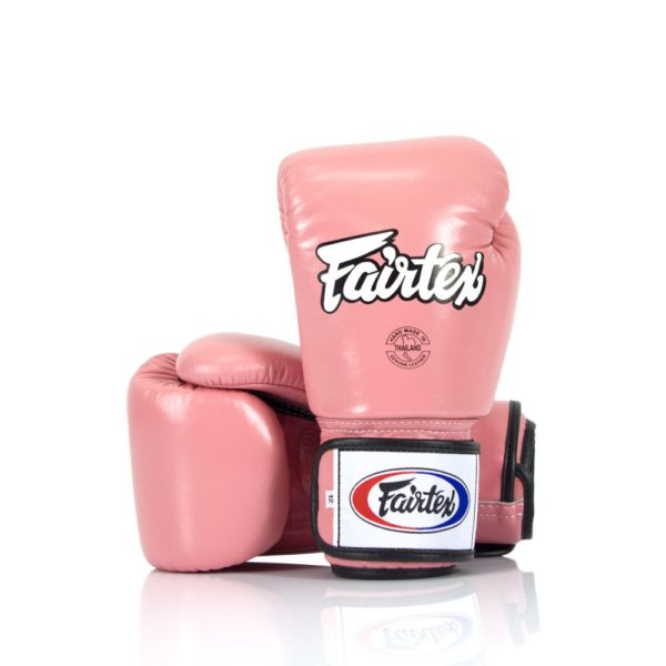 boxing gloves fairtex in pink